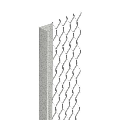 GALVANISED THINCOAT STOP END BEAD 3MM X 2.4M
