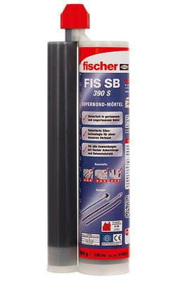 FISCHER INJECTION RESIN CARTRIDGE FIS SB 390 S