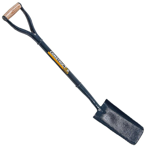CONSTRUCTION CABLE LAYING STEEL SHAFT SHOVEL/SPADE