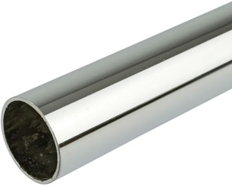 HEAVY DUTY CHROME RAIL/TUBE 25MM X 16G X 3MTR
