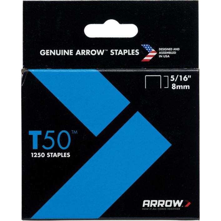 STAPLES - ARROW T50  8MM