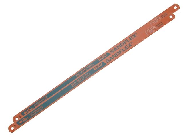 """BAHCO SANDFLEX BI-METAL HACKSAW BLADES 300MM (12"""") 32TPI"""