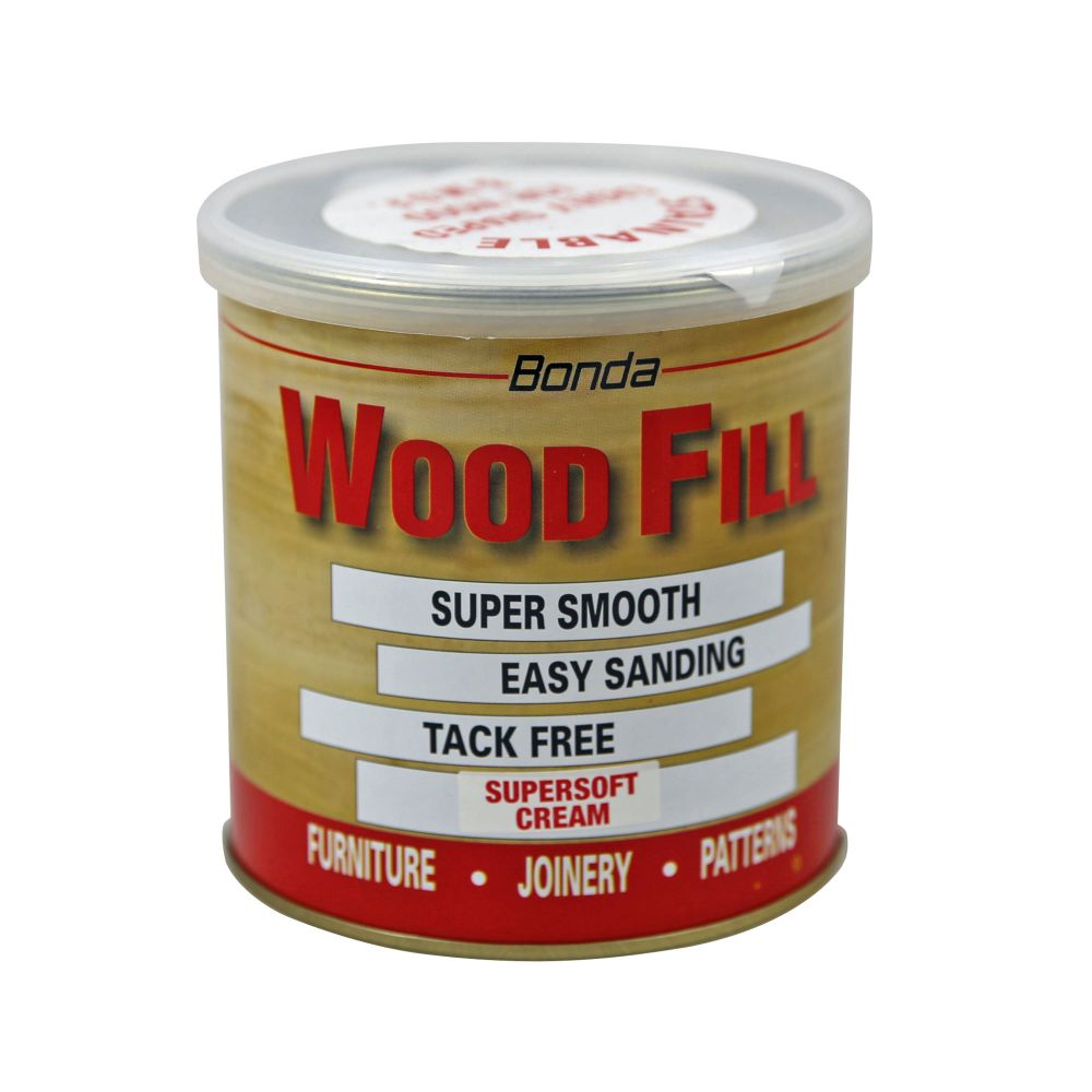SUPERSOFT CREAM WOODFILLER LARGE - 500G