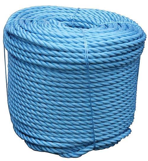BLUE POLYPROPYLENE ROPE  10MM X 30M