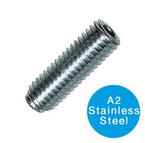 SOCKET SETSCREW - A2 STAINLESS STEEL M 6 X 20