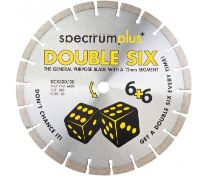 SPECTRUM DOUBLE SIX DIAMOND BLADE 115MM