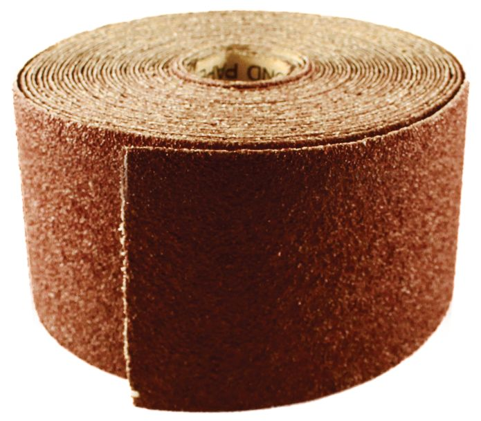 SANDPAPER - ROLL 115MM X 50M 80G (1M)