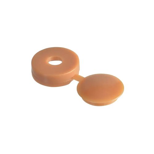 HINGED COVER CAP - LIGHT BROWN/CARAMEL 3.5-4.0 (6-8G)
