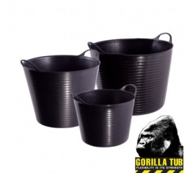 GENUINE GORILLA FLEXI TUB 38L BLACK