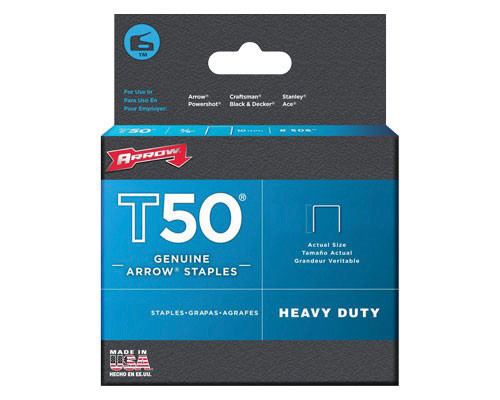 STAPLES - T50 10MM STAINLESS STEEL