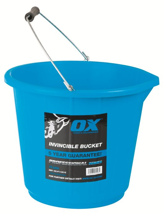 OX PRO INVINCIBLE BUCKET 15LTR