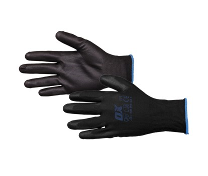 OX PU FLEX GLOVES SIZE 10 (XL)