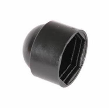 HEXAGON NUT & BOLT PROTECTION CAP - BLACK PLASTIC M 6