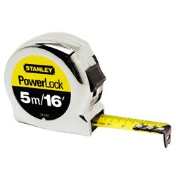 STANLEY CLASSIC POWERLOCK 5M/16FT TAPE MEASURE