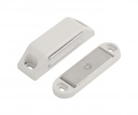 LARGE MAGNETIC CATCH  WHITE