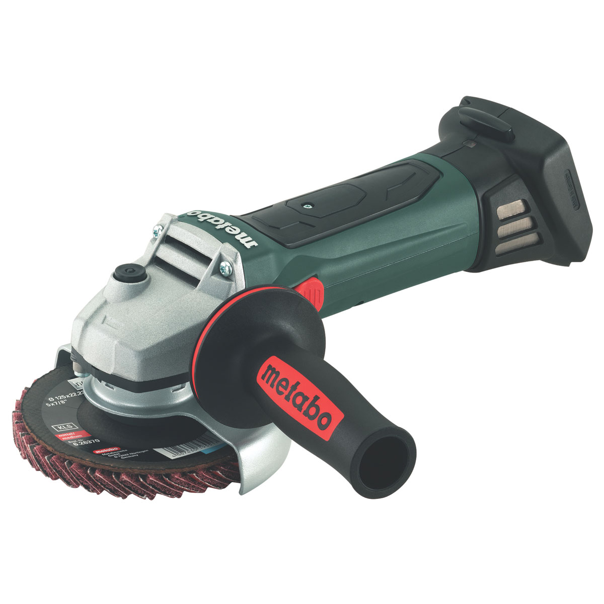 "METABO CORDLESS ANGLE GRINDER W 18 LTX 4 1/2"" (115MM) - BODY ONLY"