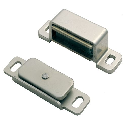 MAGNETIC CATCH 46 X 15 X 14MM NICKEL PLATED