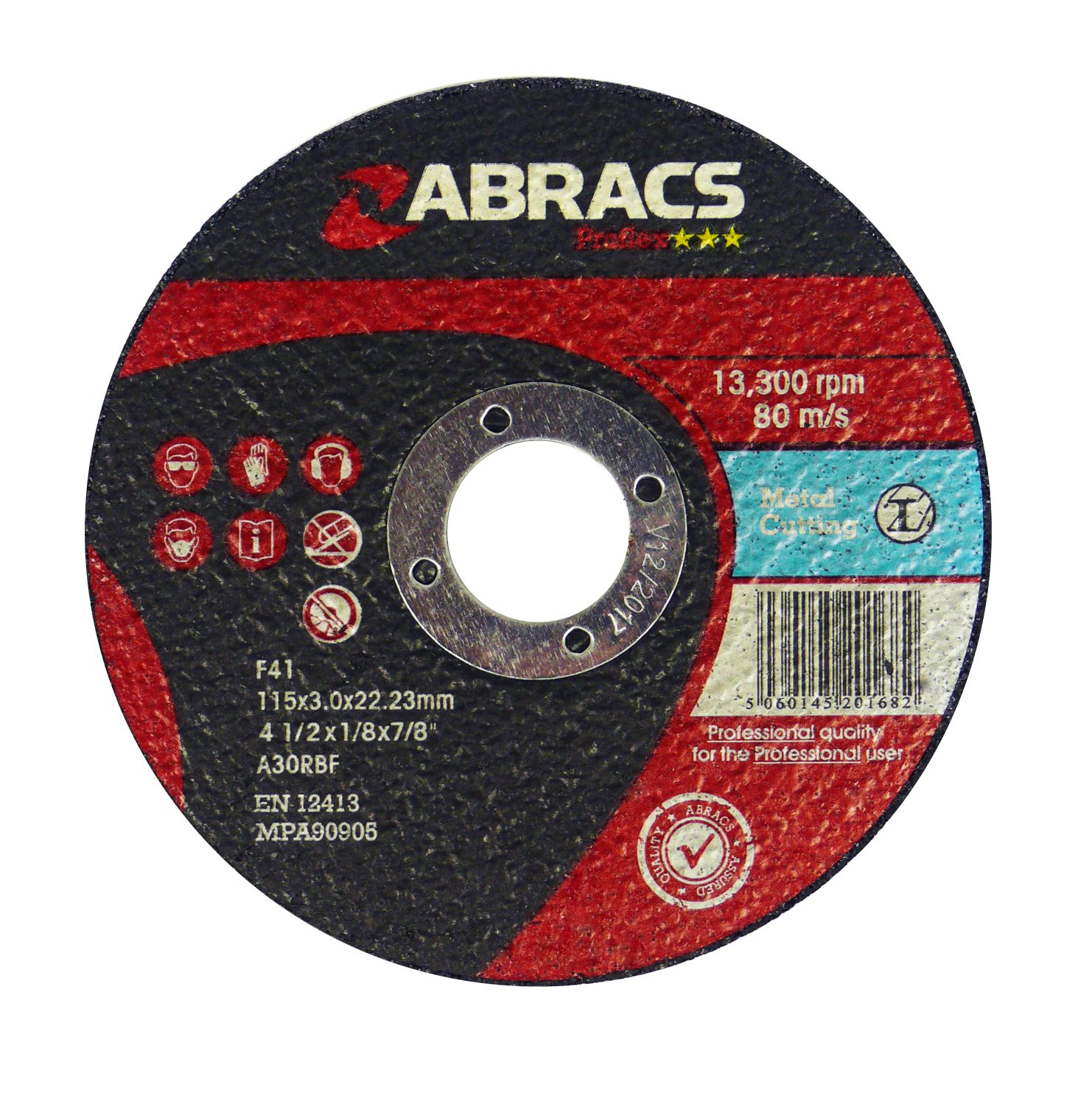METAL CUTTING DISC - FLAT 125 X 3.0 X 22MM