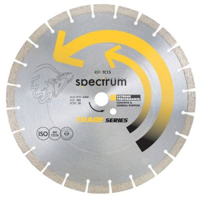 SPECTRUM TC15 DIAMOND BLADE 230MM