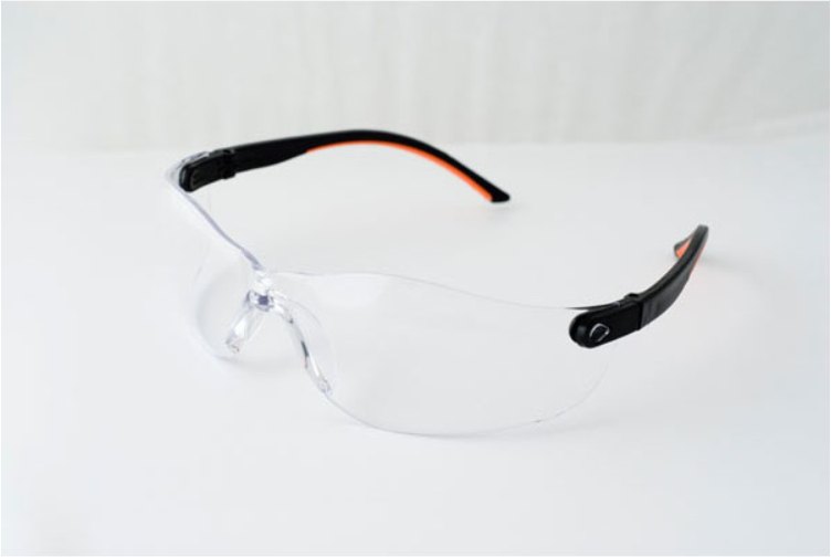 MONTANA SAFETY GLASSES WITH CLEAR LENS & HANG CORD