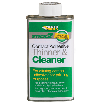 STICK2 CONTACT ADHESIVE SOLVENT THINNER & CLEANER 1L