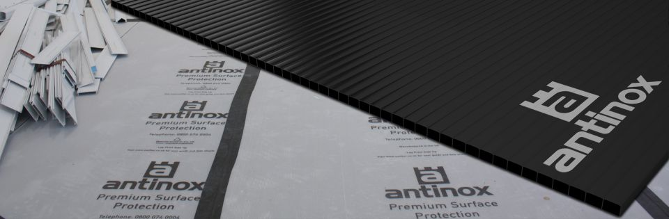 WELFIX PREMIUM SURFACE & FLOOR PROTECTION SHEETS BLACK 2MM X 2.4M X 1.2M