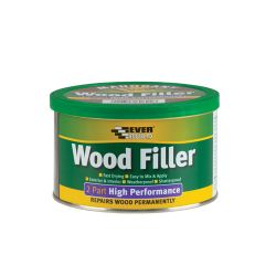 2 PART WOOD FILLER WHITE 500GR