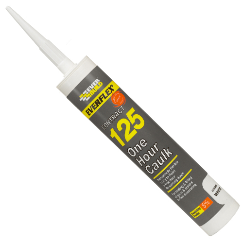 125 ONE HOUR CAULK C3 WHITE