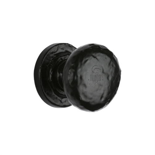 CUPBOARD KNOB BLACK ANTIQUE 25MM