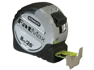 STANLEY FATMAX BLADE-ARMOR TAPE MEASURE  8M/26FT