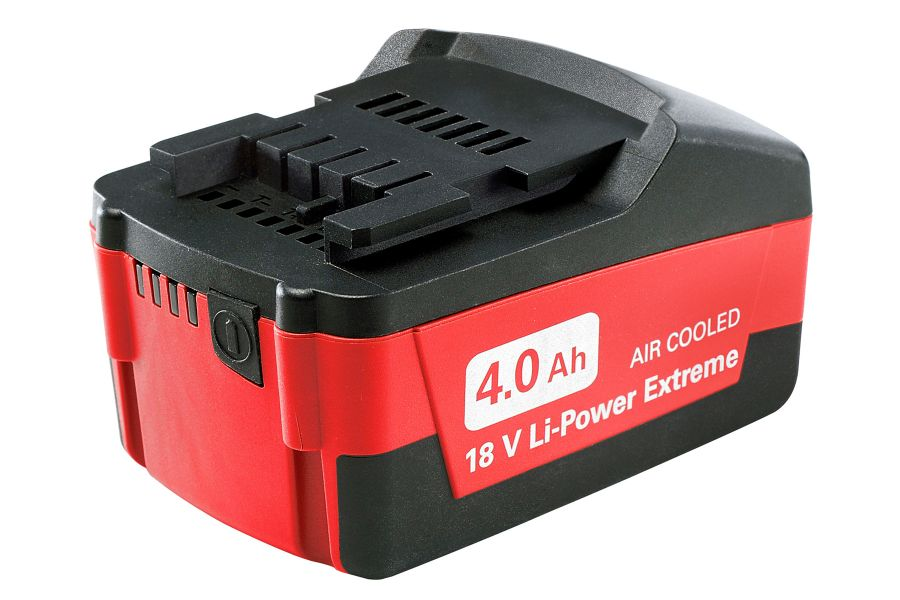 METABO 18V 4.0AH LI EXTREME BATTERY