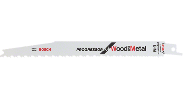 "SABRE SAW BLADES - PROGRESSOR FOR WOOD & METAL 8"" S3456XF (PACK OF 5)"