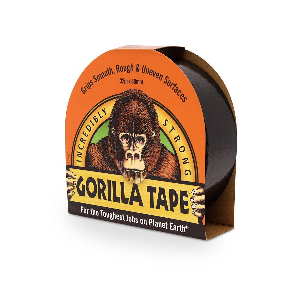 GORILLA BLACK DUCT TAPE 48 X 32M